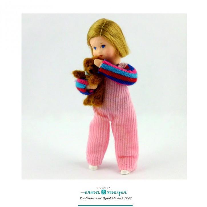Lea mit Teddy