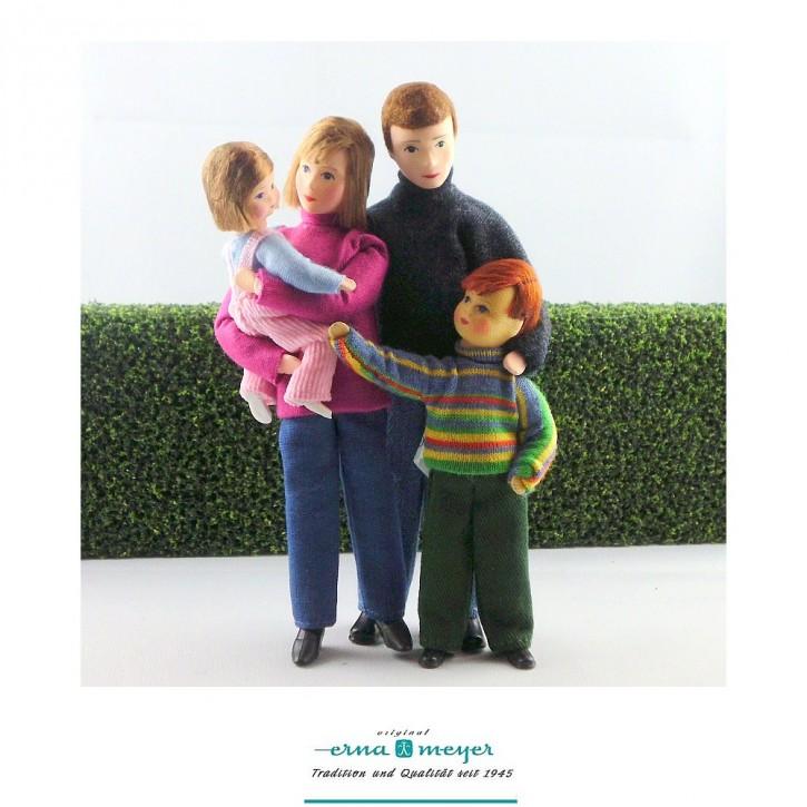 Familie 3 -  (Set bestehehend aus Mama, Papa, Sohn und Tochter)