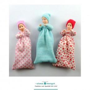 Babys Set 1 - Babys im Schlafsack (3er-Set in 3 Farben)