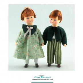 Marie + Paul, Set bestehend aus zwei Puppen