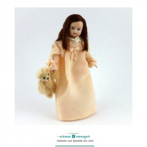 Mariechen - flexible 1:12 scale porcelain dolls