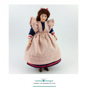 Friederike - flexible 1:12 scale porcelain dolls