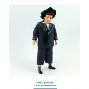 Oliver - flexible 1:12 scale porcelain dolls