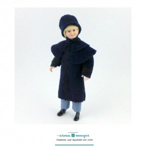 Gregor - flexible 1:12 scale porcelain dolls