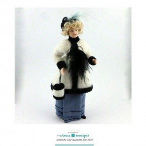 Annabellee - flexible 1:12 scale porcelain dolls