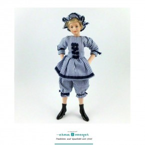 Daphne - flexible 1:12 scale porcelain dolls