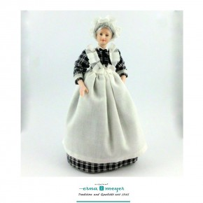 Babette - flexible 1:12 scale porcelain dolls