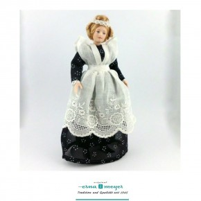 Lisette - flexible 1:12 scale porcelain dolls
