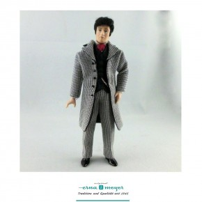 Dietram - flexible 1:12 scale porcelain dolls